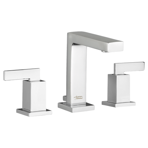 "American Standard Times Square 2- Handle 6-3/4"" Widespread Bathroom Faucet, 7184.851"