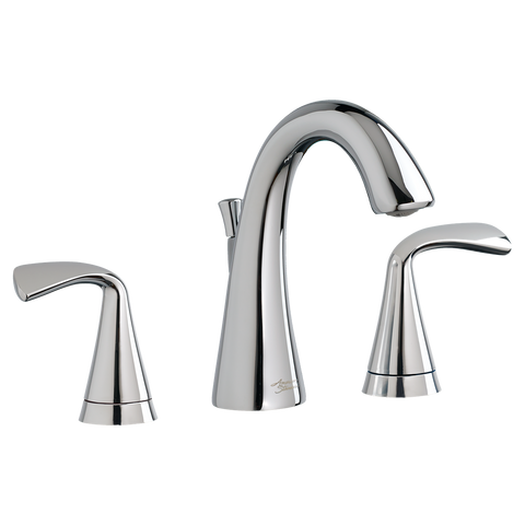 "American Standard Fluent Two-Handle 6-7/8"" Widespread Bathroom Faucet, 7186.801"