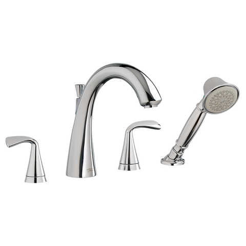 "American Standard Fluent 8-5/8"" Deck-Mount Bathtub Faucet, 7186.901 - Showroom Sinks"