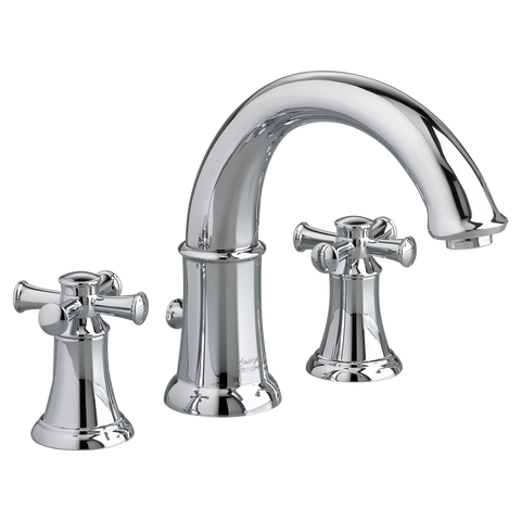 "American Standard Portsmouth 7-7/8"" Deck-Mounted Bathtub Faucet With Hand Shower, 7420.921"