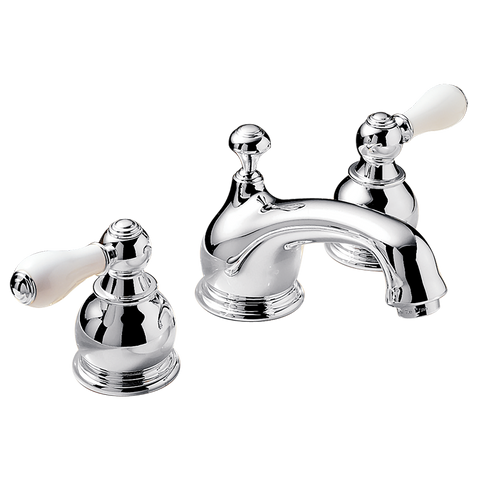 "American Standard Hampton 2-Handle 3-1/3"" Widespread Bathroom Faucet, 7871.712 - Showroom Sinks"