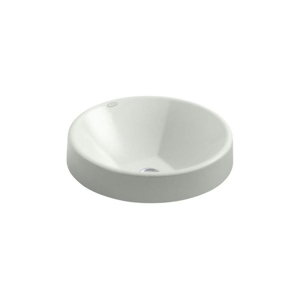 "Kohler Inscribe Wading Pool 16.5"" Round Vessel Bathroom Sink - Sea Salt K-2388-FF"