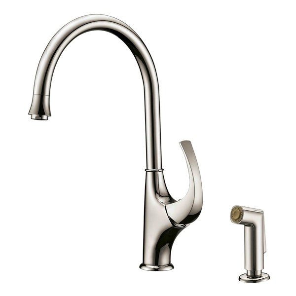 Single-Lever Kitchen Faucet with Side Spray, Dawn, AB04 3276