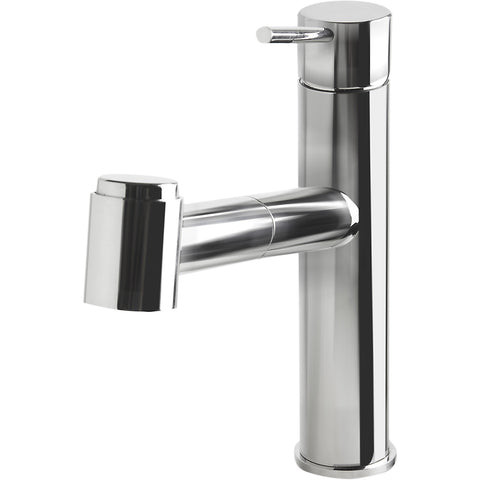 ALFI brand Stainless Steel Kitchen Faucet with Pull-Out Spray - Polished Stainless Steel AB2203
