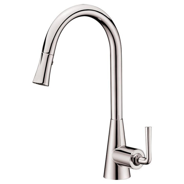 Dawn Single-Lever Pull-Down Spray Sink Mixer - Brushed Nickel AB30 3788BN