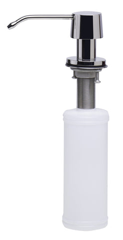 ALFI brand AB5004 Solid Stainless Steel Single Hole Soap Dispenser Pump - Stainless Steel - Showroom Sinks