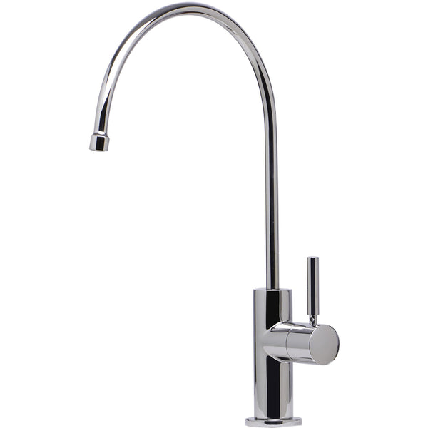 ALFI brand Modern Solid Stainless Steel Goose Neck Water Dispenser - Polished Stainless Steel AB5008