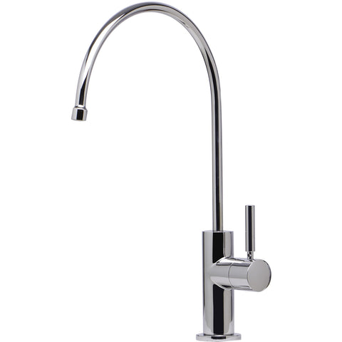 ALFI brand Modern Solid Stainless Steel Goose Neck Water Dispenser - Stainless Steel AB5008 - Showroom Sinks