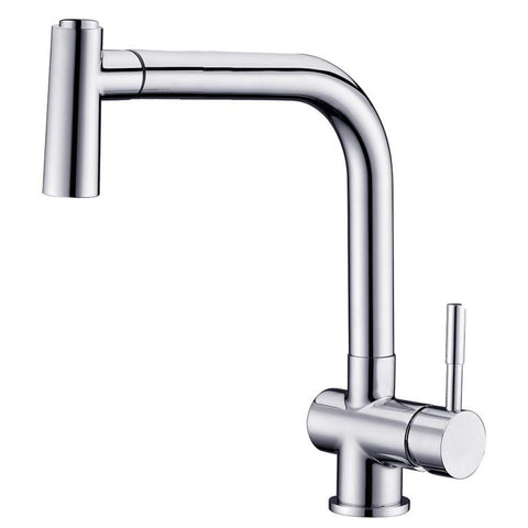Dawn Single-Lever Pull-Out Spray Sink Mixer - Chrome AB50 3670C