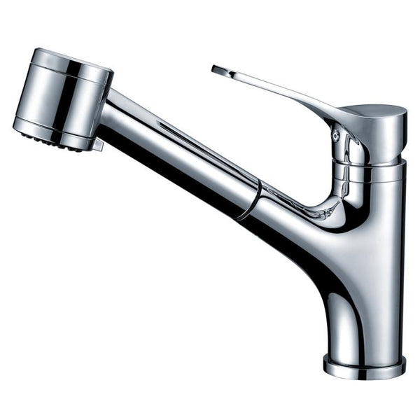 Dawn Single-Lever Pull-Out Spray Kitchen Faucet - Chrome AB50 3709C
