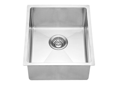 "Dawn 14-7/8"" Stainless Steel Bar Sink, Single Bowl, BS131507"