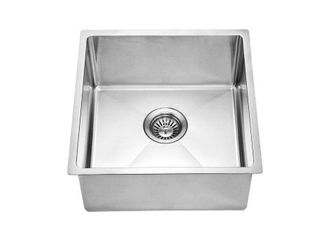 "Dawn 17-3/16"" Stainless Steel Bar Sink, Single Bowl, BS161609"