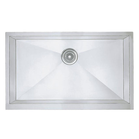 "Blanco Precision™ 32"" Single Bowl Apron Stainless Steel Sink, 513439 - Showroom Sinks"