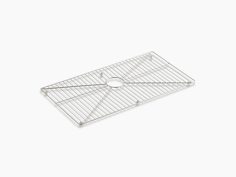 "Kohler K-6474-ST, Sink Protector Grid for 36"" Single-Bowl Apron-Front Kitchen Sink"