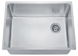"Dawn 26-1/2"" Stainless Steel Undermount Kitchen Sink, Single Bowl, DSU2517"