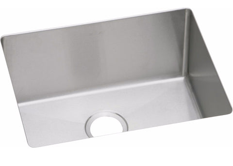 "Elkay Crosstown 16 Gauge Stainless Steel 23-1/2"" x 18-1/4"", Single Bowl Undermount Sink, EFRU211510"