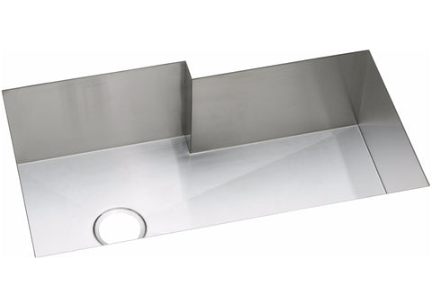 "Elkay Crosstown 16 Gauge Stainless Steel 34-1/2"", Single Bowl Undermount Kitchen Sink, EFUS342110R"