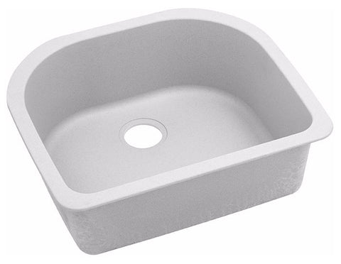 "Elkay Quartz Classic 25"" x 22"" x 8-1/2"", Single Bowl Undermount Sink, ELGSU2522"