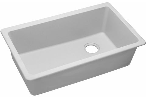 "Elkay Quartz Classic 33"", Single Bowl Undermount Sink, ELGU13322"