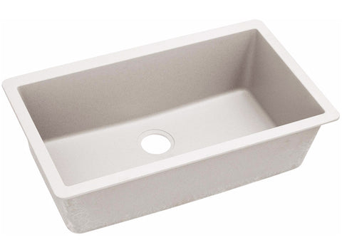 "Elkay Quartz Luxe 33"", Single Bowl Undermount Kitchen Sink, ELXRU13322"