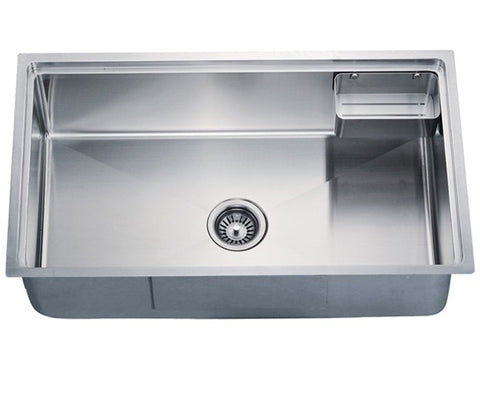 "Dawn 33-1/8"" Stainless Steel Undermount Small Radius Single Bowl, SRU311710"