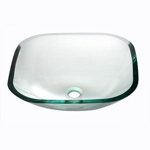 Dawn Tempered Glass Vessel Bowl, GVB84001