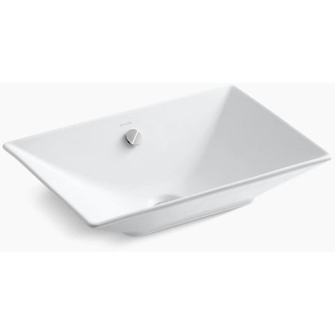 "Kohler 22"" Rêve Vessel Bathroom Sink - White K-4819-3"