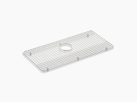 "Kohler K-6062-ST, Sink Protector Grid for Dickinson 33"" Single-Bowl Apron-Front Kitchen Sink"
