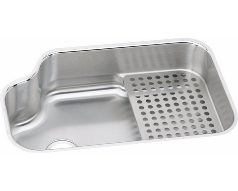 "Elkay Lustertone Stainless Steel 32"" x 21"" x 8"", Single Bowl Undermount Sink"