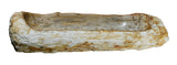 "Bathroom Vessel Sink, 39"" Petrified Wood, Allstone Group, PEWD-#012 - Showroom Sinks"