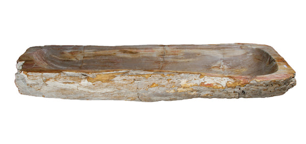 "Bathroom Vessel Sink, 41.5"" Petrified Wood, Allstone Group, PEWD-#015 - Showroom Sinks"