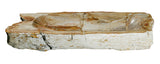 "Bathroom Vessel Sink, 31.5"" Petrified Wood, Allstone Group, PEWD-#019-B - Showroom Sinks"