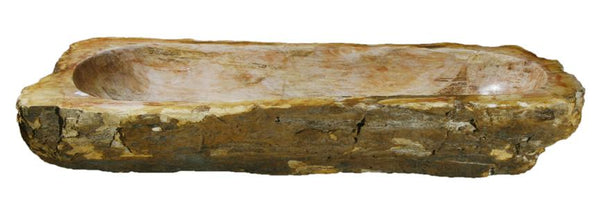 "Bathroom Vessel Sink, 29.5"" Petrified Wood, Allstone Group, PEWD-#031 - Showroom Sinks"