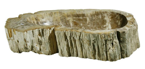 "Bathroom Vessel Sink, 26"" Petrified Wood, Allstone Group, PEWD-#033 - Showroom Sinks"