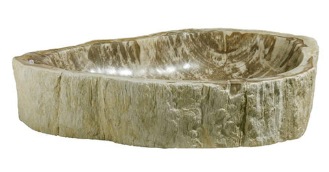 "Bathroom Vessel Sink, 26"" Petrified Wood, Allstone Group, PEWD-#060 - Showroom Sinks"