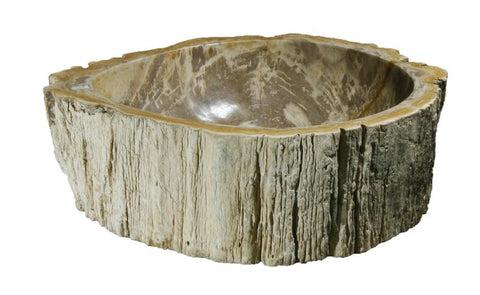 "Bathroom Vessel Sink, 18"" Petrified Wood, Allstone Group, PEWD-#076 - Showroom Sinks"
