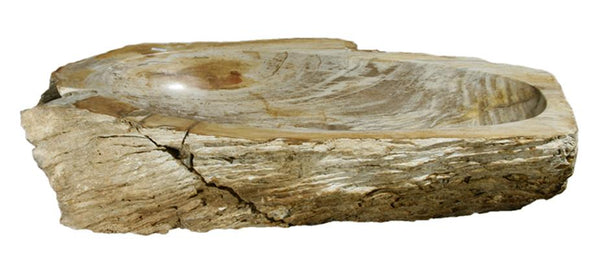 "Bathroom Vessel Sink, 26"" Petrified Wood, Allstone Group, PEWD-#089 - Showroom Sinks"