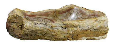 "Bathroom Vessel Sink, 29"" Petrified Wood, Allstone Group, PEWD-#091 - Showroom Sinks"