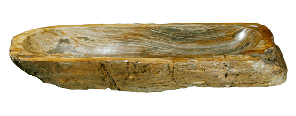 "Bathroom Vessel Sink, 31"" Petrified Wood, Allstone Group, PEWD-#095 - Showroom Sinks"