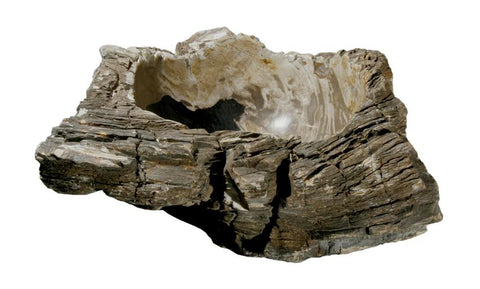 "Bathroom Vessel Sink, 21"" Petrified Wood, Allstone Group, PEWD-#105 - Showroom Sinks"