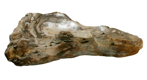 "Bathroom Vessel Sink, 30.5"" Petrified Wood, Allstone Group, PEWD-#152 - Showroom Sinks"