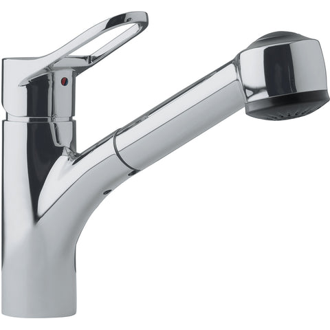 Mambo FFPS280 Kitchen Faucet, Satin Nickel, Franke