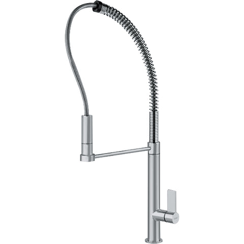 MasterChef FFPD2080 Satin Nickel Kitchen Faucet, Franke