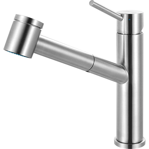 Steel FFPS3450 Stainless Steel Pull-Out Spray Kitchen Faucet, Franke