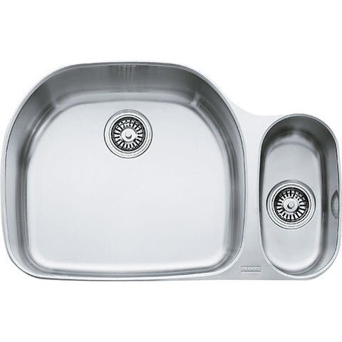 "Prestige PRX160 Stainless Steel Kitchen Sink, 31 1/8"" Double Bowl"