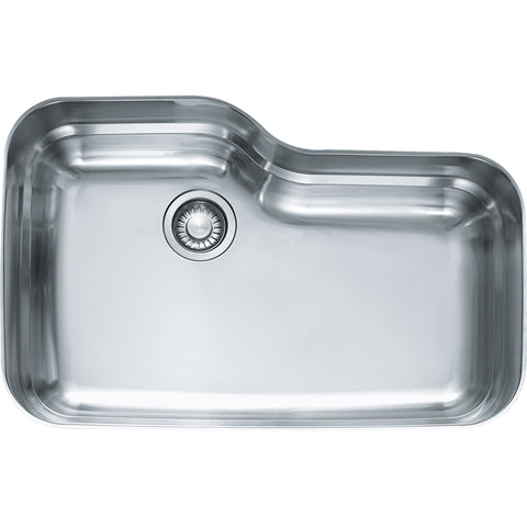 "Orca 30-11/16"" Stainless Steel Undermount Kitchen Sink, ORX110 , Franke"