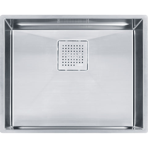 "Peak 22-13/16"" Stainless Steel Kitchen Sinks, Single Bowl, Undermount Sink, PKX11021"