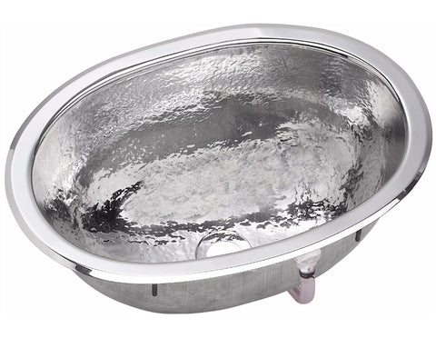 "Elkay Asana Stainless Steel 17"" x 12"" x 6-1/2"", Single Bowl, Dual Mount Bathroom Sink, SCF1611SH"