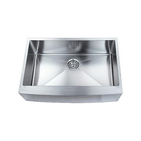 "Boann 33"" Apron R15 Stainless Steel Single Sink SKR3322"