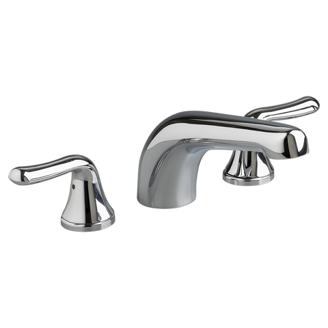 "American Standard Colony Soft 5-1/16"" Deck-Mount Bathtub Faucet Trim Kit, T975.500 - Showroom Sinks"